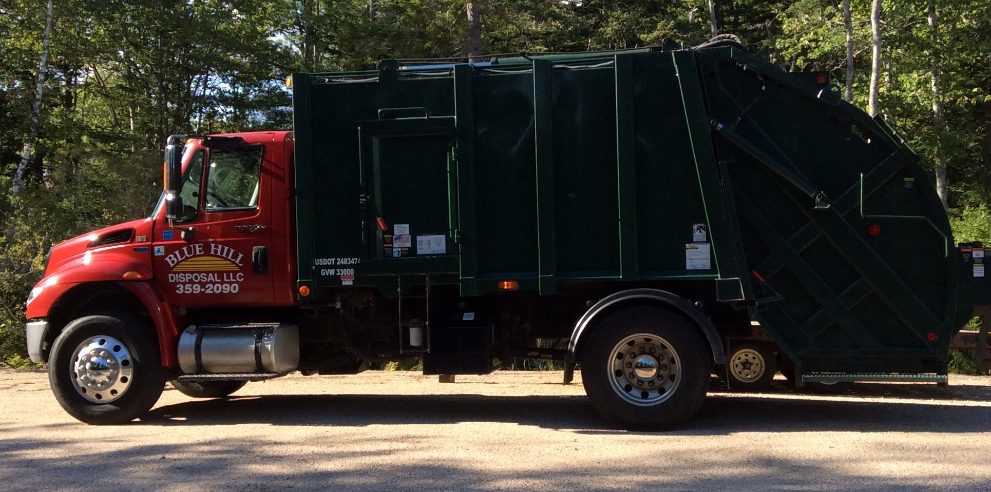 Blue Hill Disposal Garbage removal service